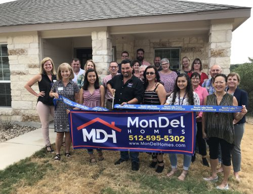 MonDel Homes Ribbon Cutting